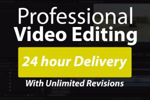Portfolio for 3d Animation video editing