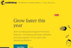 Portfolio for MailChimp