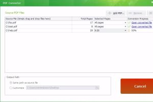 Portfolio for PDF Conversion or Transformation