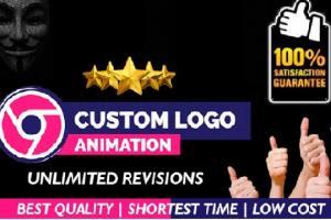 Portfolio for Professional Custom 3D Logo Animation