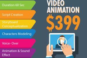 Portfolio for 2D & 3D Animation | Video Services