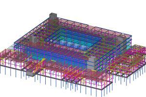 Portfolio for Tekla structure modeling
