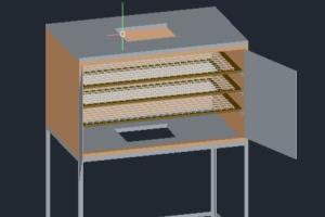 Portfolio for Autocad 3D and 2D designer