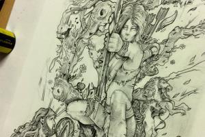 Portfolio for Fantasy and Sci Fi Illustration