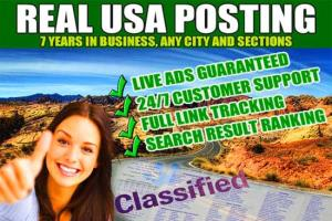 Portfolio for Classified Ads Posting