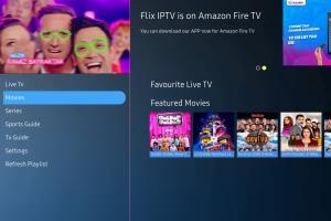 Portfolio for IPTV app development