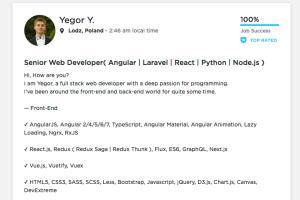 Portfolio for React | TypeScript | GraphQL Developer