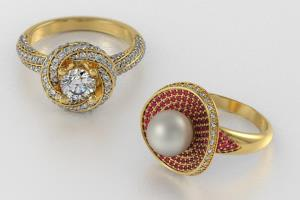 Portfolio for jewelry cad design