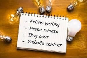 Portfolio for Content Writer | Article Writer | Editor