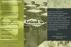 Portfolio for Corporate Training Services