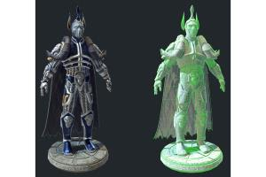 Portfolio for 3D Character and Prop Modelling