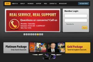 Portfolio for IPTV and IPTV CMS developer