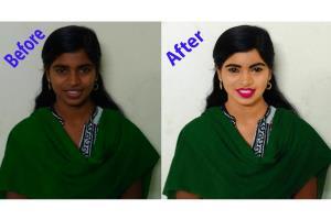 Portfolio for Photo retouching service