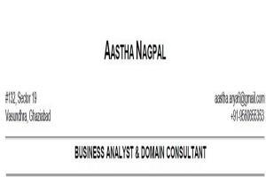 Portfolio for Banking Domain Business Analyst