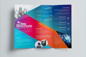Portfolio for Brochure and flyer Designer
