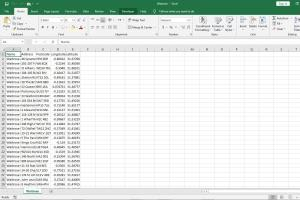 Portfolio for Microsoft Excel Expert and Data Analyst