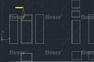 Portfolio for 3D Modeling On Autocad and PTC Creo