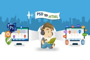 Portfolio for Design Psd To HTML Bootstrap Website