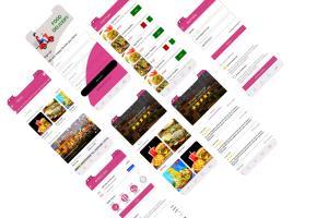 Portfolio for Online Food delivery App
