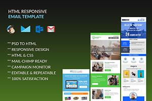 Portfolio for Mailchimp HTML Email template