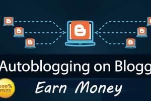 Portfolio for I Create Autoblog Posting Blogger Websit