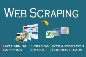 Portfolio for ♕ Web Scraping   Automation Tool ♕