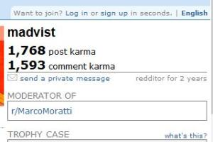 Portfolio for Reddit Account Karma Increasing Service