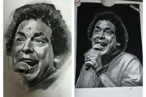 Portfolio for Realistic Drawn Portraits