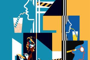 Portfolio for Fashion Designer, Digital Print Making