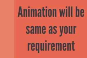 Portfolio for 2D Animation Videos (vyond) in 24 hours