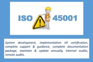 Portfolio for OH& Safety Management (HSE) ISO45001