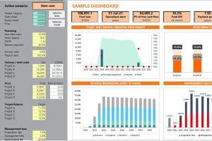 Portfolio for Financial modeller