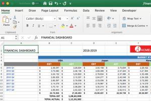 Portfolio for Excel Spread sheet Formula and Graphs