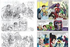 Portfolio for Coloring Artist for Comic & Line Drawing