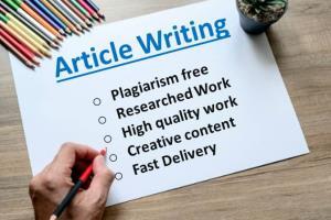 Portfolio for Article writing and Website SEO