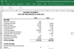 Portfolio for Accounting Specialist