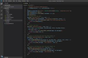Portfolio for Node js Backend Service