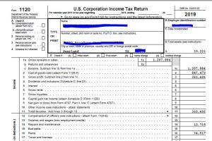 Portfolio for Tax / Financial Analyst - Canada & USA