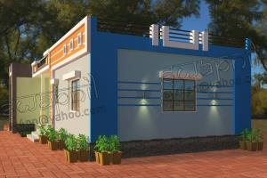 Portfolio for 3D elevation, 3D exterior design,3DS Max