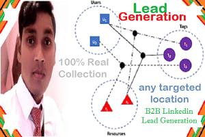 Portfolio for I will do prospecting lead generation