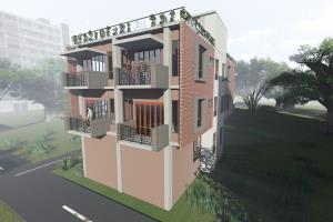 Portfolio for interior design with 3d realistic render
