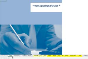 Portfolio for business plan, financial model, and fina