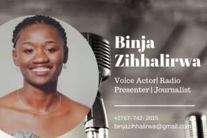 Portfolio for Voice Over Artist, Journalist, Copywrite