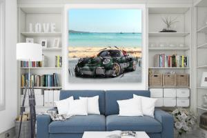 Portfolio for Canvas Wall Art Design and Mockups