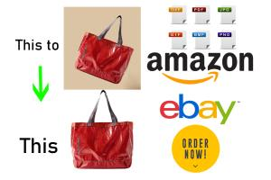Portfolio for Amazon product photos editing in 5 hour
