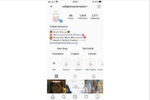 Portfolio for I will create instagram & facebook shop