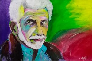 Portfolio for Portrait artist and poster designer