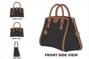 Portfolio for I will make design a bag ,handbag and wo