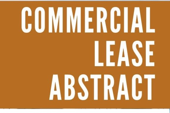 Portfolio for Lease abstract