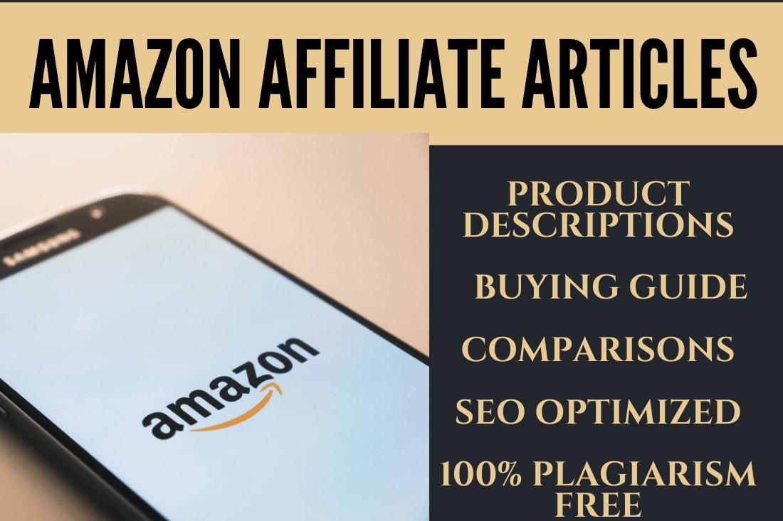 Portfolio for Amazon Product Descriptions